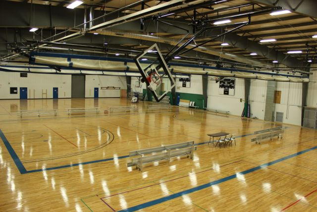 Why spectrum travel basketball spectrum sports academy for How many square feet is a basketball court